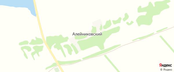 Алейниковская улица на карте Алейниковского поселка с номерами домов