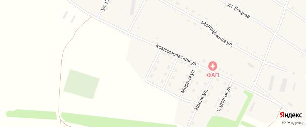 Степная улица на карте села Георгиевки с номерами домов