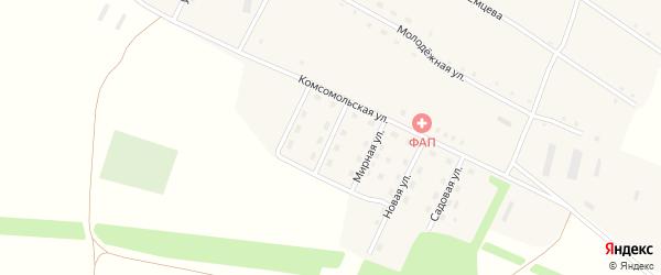 Полевая улица на карте села Георгиевки с номерами домов