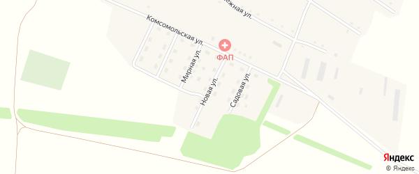 Новая улица на карте села Георгиевки с номерами домов