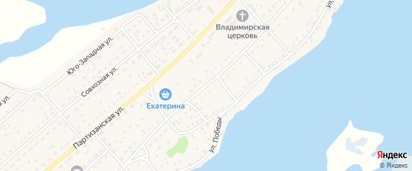 Кашировская улица на карте села Мамонтово с номерами домов
