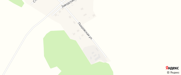Покровская улица на карте Свободного поселка с номерами домов