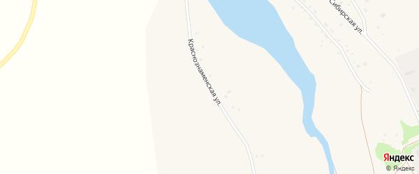 Краснознаменская улица на карте села Суслово с номерами домов