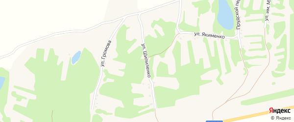 Улица Шипиленко на карте села Клепечихи с номерами домов