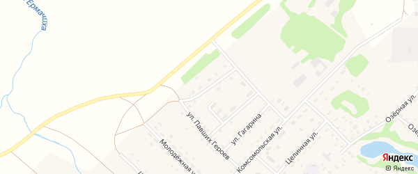 Улица Алексея Ковалева на карте села Корчино с номерами домов
