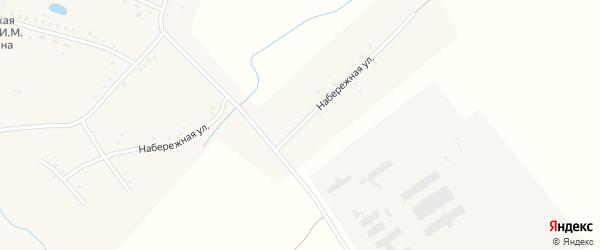 Набережная улица на карте села Корчино с номерами домов