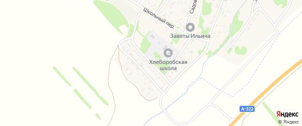 Парковый переулок на карте поселка Хлебороба с номерами домов