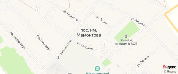 Путейная улица на карте поселка им Мамонтова с номерами домов