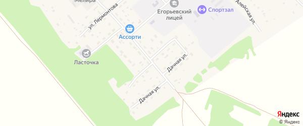Тракторная улица на карте поселка им Мамонтова с номерами домов