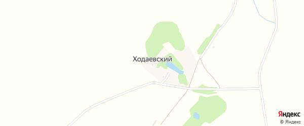 Степная улица на карте Ходаевского поселка с номерами домов