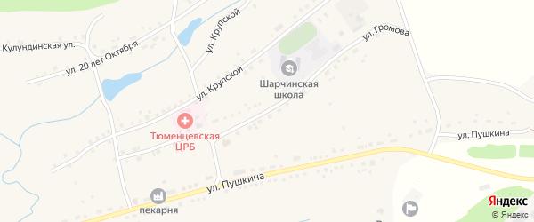 Улица Громова на карте села Шарчино с номерами домов
