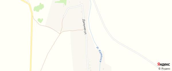Дальняя улица на карте Масальского поселка с номерами домов
