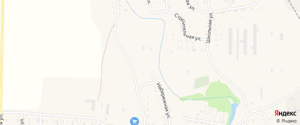 Набережная улица на карте Масальского поселка с номерами домов