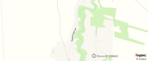 Заречная улица на карте поселка Крючки с номерами домов