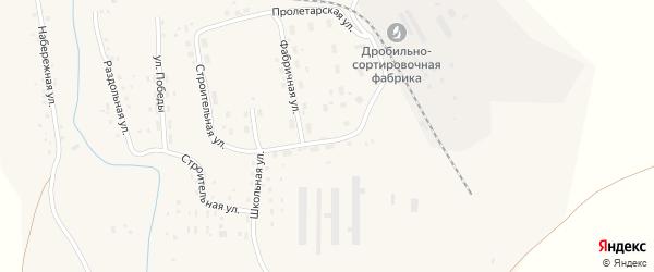 Пролетарская улица на карте Масальского поселка с номерами домов
