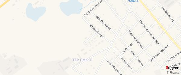 Луговая улица на карте села Поспелихи с номерами домов