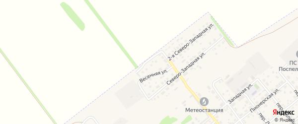 Сиреневая улица на карте села Поспелихи с номерами домов