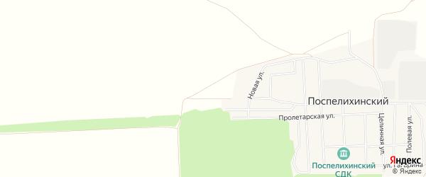 Карта территории сдт Мичуринца в Алтайском крае с улицами и номерами домов