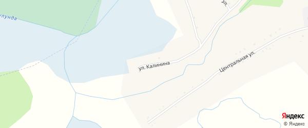 Улица Калинина на карте села Куликово с номерами домов