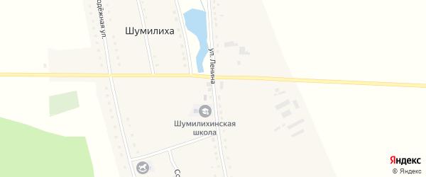Улица Ленина на карте села Шумилихи с номерами домов