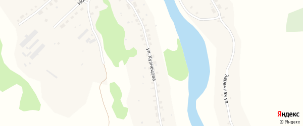 Улица Кузнецова на карте села Юдихи с номерами домов
