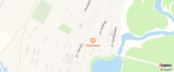 Советская улица на карте села Корболихи с номерами домов