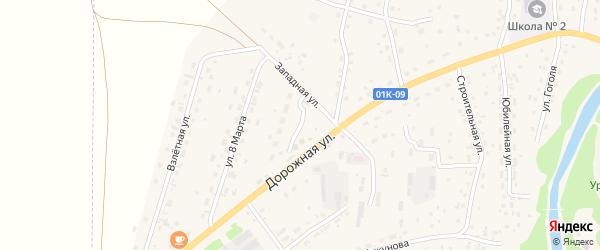 Степная улица на карте Староалейского села с номерами домов