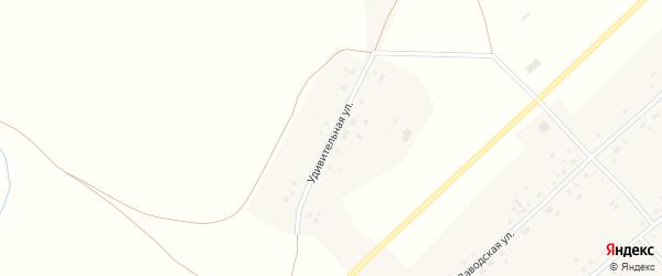 Удивительная улица на карте села Макарово с номерами домов