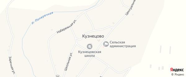 Молодёжная улица на карте села Кузнецово с номерами домов