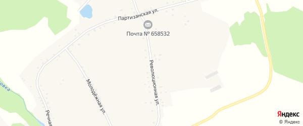 Революционная улица на карте села Георгиевки с номерами домов