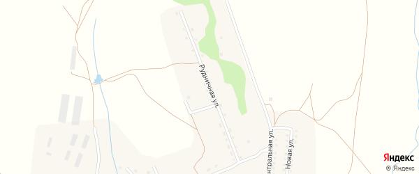 Рудничная улица на карте села Карамышево с номерами домов