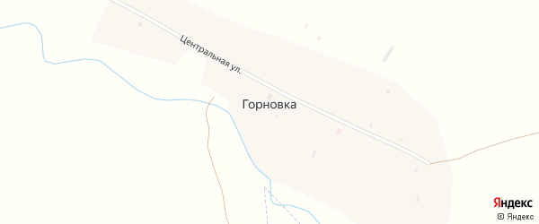 Набережная улица на карте поселка Горновки с номерами домов