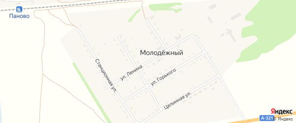 Улица Ленина на карте Молодежного поселка с номерами домов