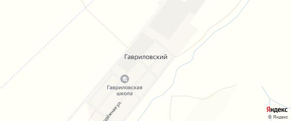 Карта Гавриловского поселка в Алтайском крае с улицами и номерами домов