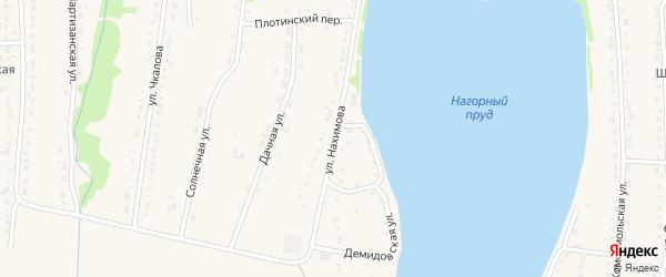 Улица Нахимова на карте Змеиногорска с номерами домов