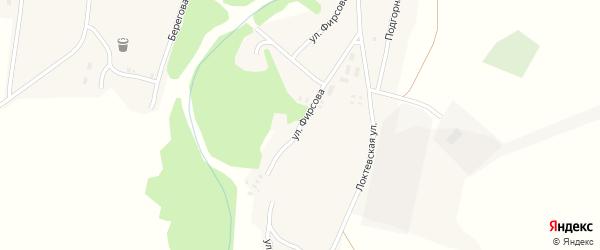 Улица Фирсова на карте села Новофирсово с номерами домов