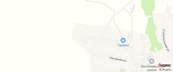 Улица Новостройки на карте Беспаловского поселка с номерами домов