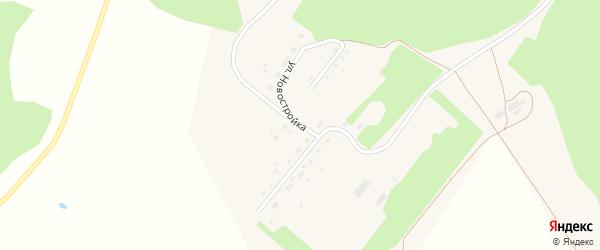 Улица Новостройка на карте села Белово с номерами домов