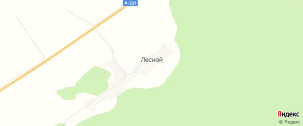 Карта Лесного поселка в Алтайском крае с улицами и номерами домов