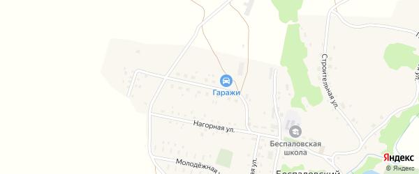 Цветочная улица на карте Беспаловского поселка с номерами домов