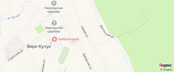 Новая улица на карте села Верха-Кучука с номерами домов
