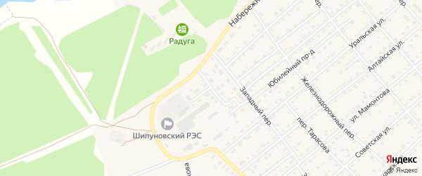 Энергетический проезд на карте села Шипуново с номерами домов