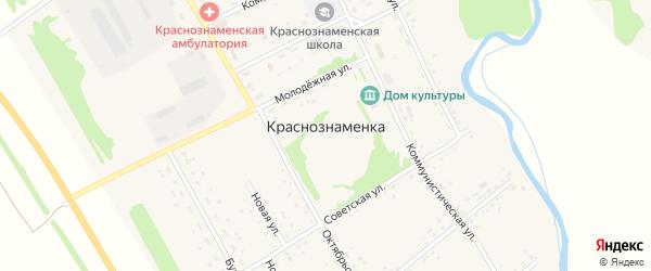 Краснознаменская улица на карте Краснознаменского поселка с номерами домов