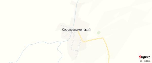 Карта села Краснознаменки в Алтайском крае с улицами и номерами домов