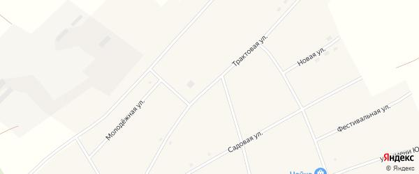 Трактовая улица на карте села Калмыцкие Мысы с номерами домов