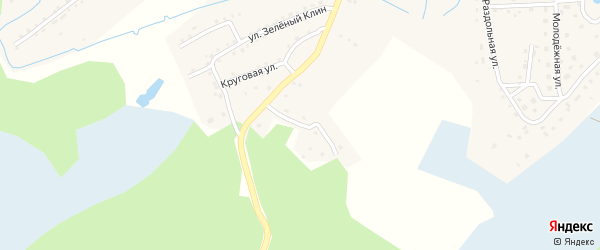 Беловский переулок на карте станции Ребрихи с номерами домов