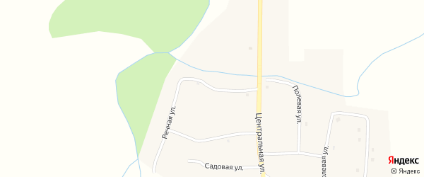 Речная улица на карте села Усть-Таловки с номерами домов