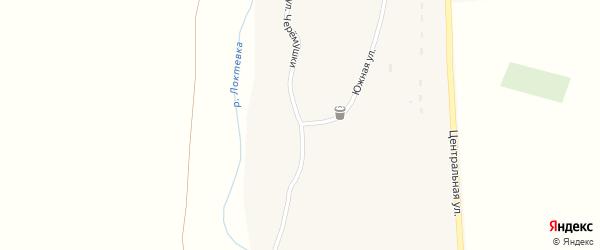 Улица Черемушки на карте села Усть-Таловки с номерами домов