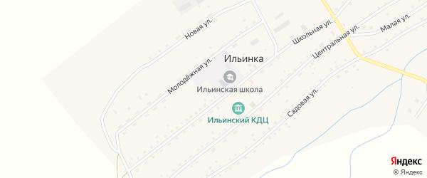 Улица Шумилова на карте села Ильинки с номерами домов
