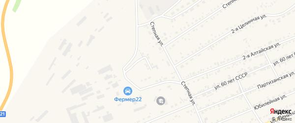 Индустриальная улица на карте села Ребрихи с номерами домов